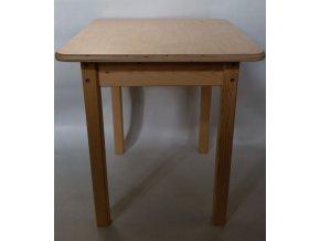 Dětský dřevěný stůl - Fandy .