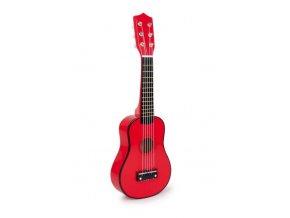 Kytara červená .