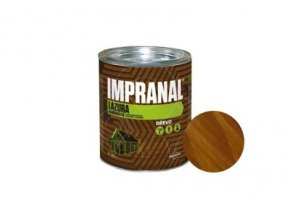 Lazurovaci lak slabovrstvy IMPRANAL 2 5 l zlaty dub
