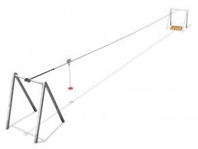 Monkey's lanovka délka 20m METAL .