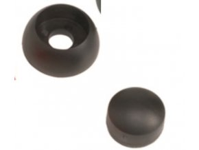 Krytka šroubu 10 - 12mm černá .