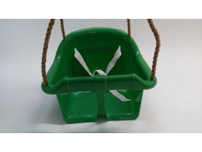 Houpačka dětská plastová Herold SVĚTLE ZELENÁ .