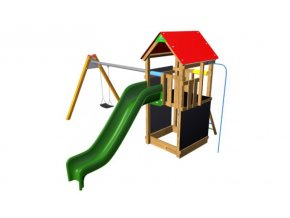 Flexi věž se střechou - 150 TH1 Premium .