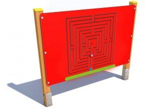 Interaktivní panel - Monkey's Labyrint .