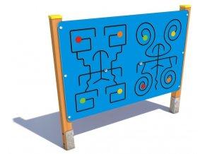 Interaktivní panel - Monkey's Motorika .