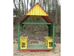 Dětský altánek Monkey's Sunny House