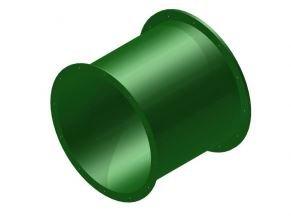 Náhradní díl na tobogán rovný 75 cm zelený .