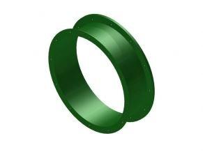 Náhradní díl na tobogán rovný 25 cm zelený .