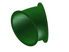 Náhradní díl na tobogán zelený 30° .