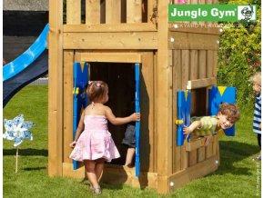 PŘÍSTAVEK K HRACÍ SESTAVĚ Jungle Gym Playhouse pro hřiště Lodge, Cabin .
