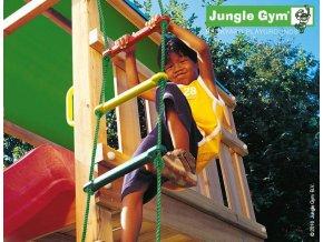 PŘÍSTAVEK K HRACÍ SESTAVĚ Jungle Gym 1 Step Module - provazový žebřík .