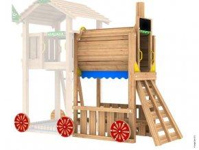 PŘÍSTAVEK K HRACÍ SESTAVĚ Jungle Gym Train Module .