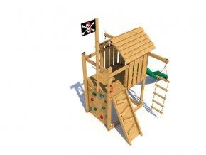 Dětské hřiště Monkey´s Home Malý pirát JOE .