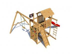 Dětské hřiště Monkey´s Home Velký pirát DAN .
