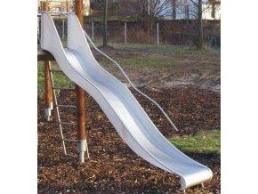 SKLUZAVKA Monkey´s nerezová pro výšku konstrukce 2,5 m (šíře 50 cm)