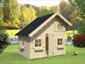 Dětský domek TOM (220cm x 180cm) tl. 16mm