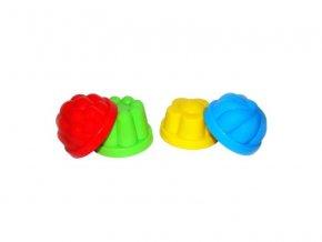 Formička na písek: bábovičky 4ks/bal. .