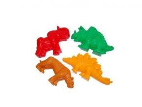 Formičky na písek: tygr, mamut, dinosourus 2 druhy 4ks/bal. .