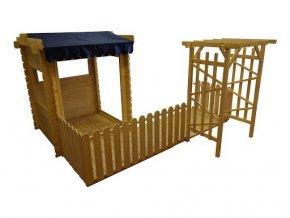 Veranda pro dětský domeček M501, M503, M503A, M505, M516 .