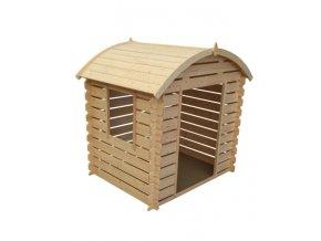 Dětský dřevěný domek M505C 105x130x145cm