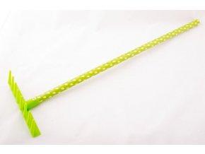 Dětské nářadí HRÁBĚ plastové zelené .