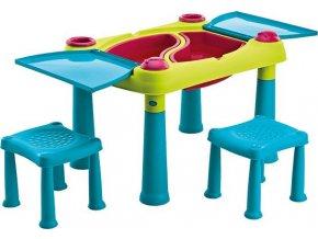 CREATIVE PLAY TABLE + stoličky .