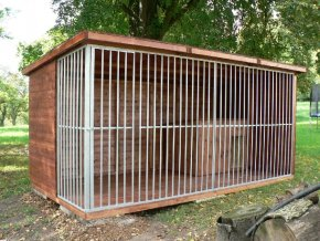 Kotec pro psa 2x4m