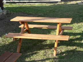 Picnic lavice pro děti