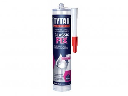 Lepidlo tytan classic fix 310 ml transparentní