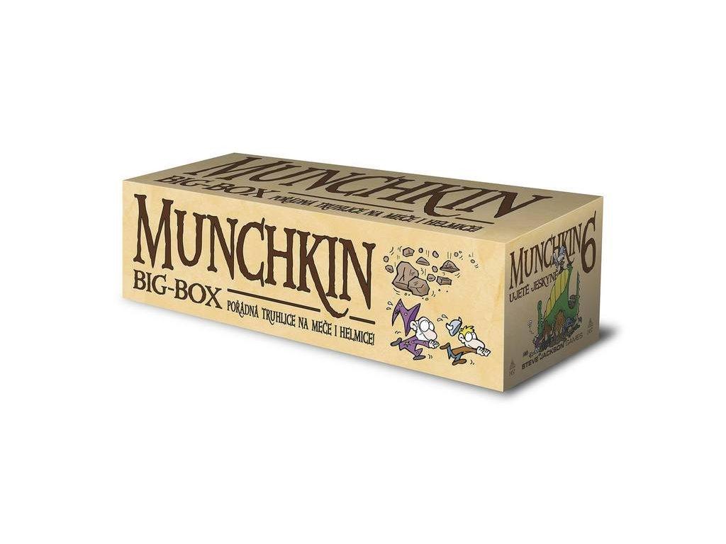 Munchkin 6 - Ujeté jeskyně (Big Box)