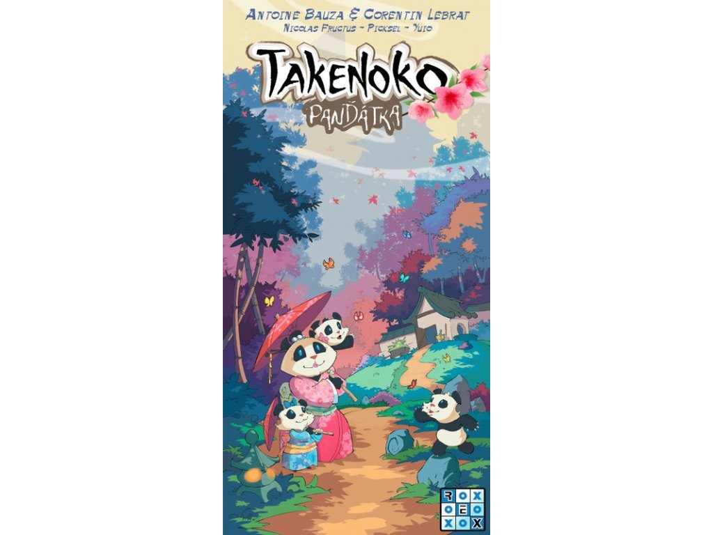Takenoko - Panďátka