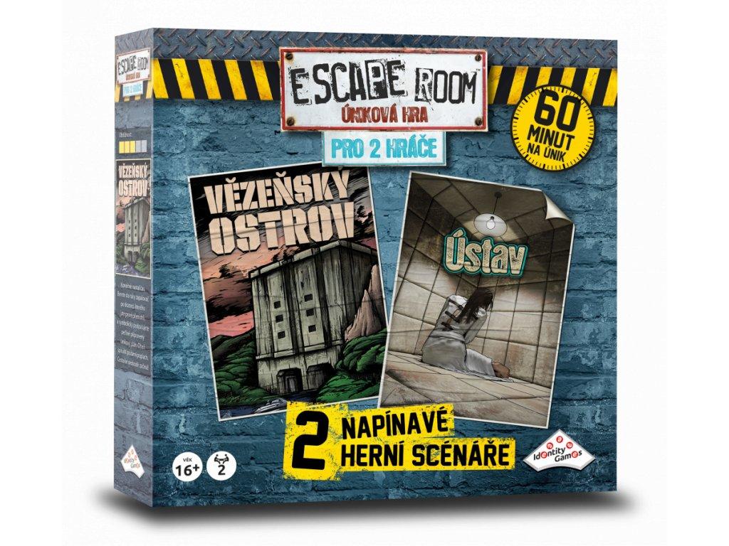 escape room unikova hra pro 2 hrace