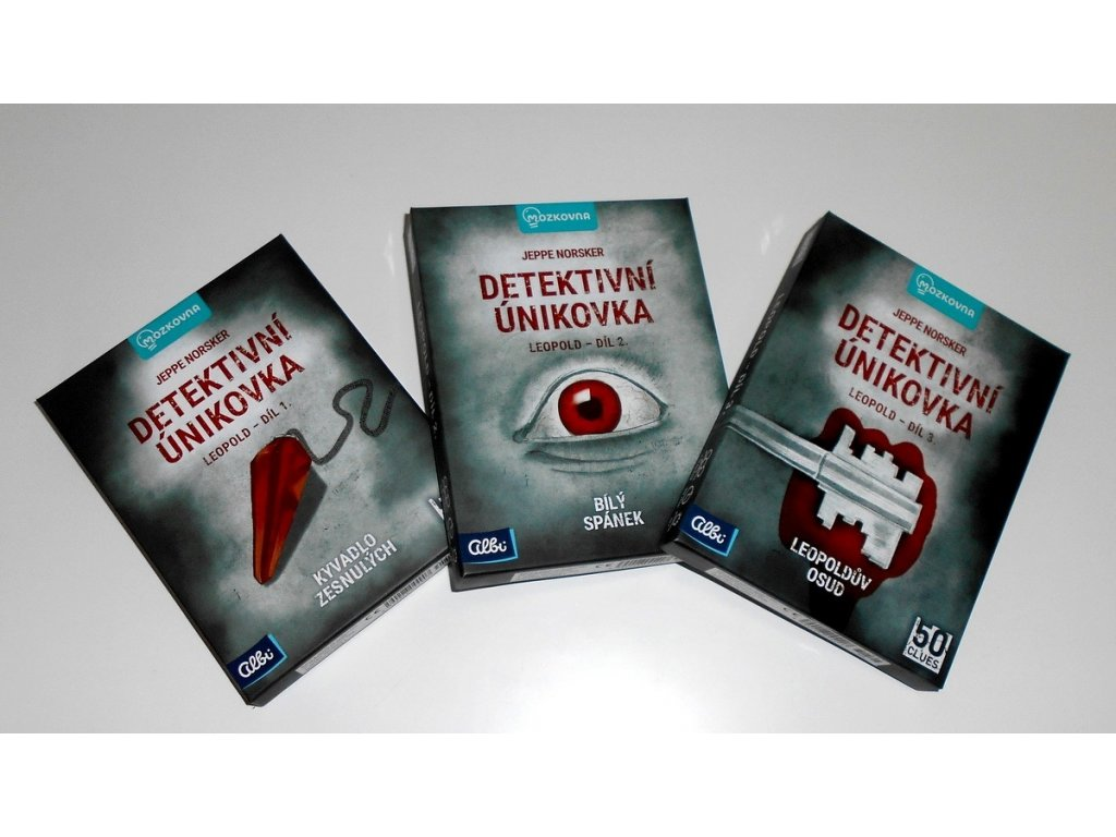 detektivni unikovky leopold cover