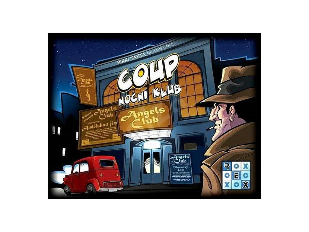 coup nocni klub party hra 5205444111472