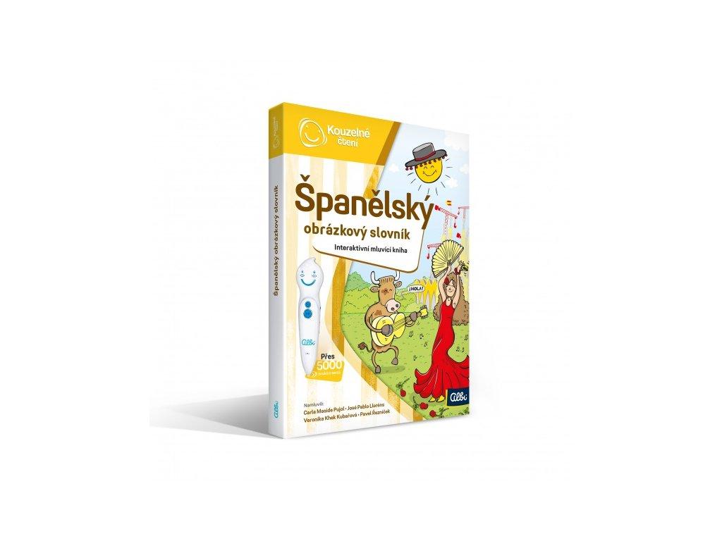 Kouzelné čtení - kniha Španělský obrázkový slovník