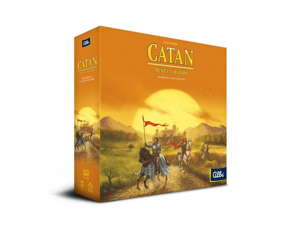 Catan - Osadníci z Katanu - Města a rytíři