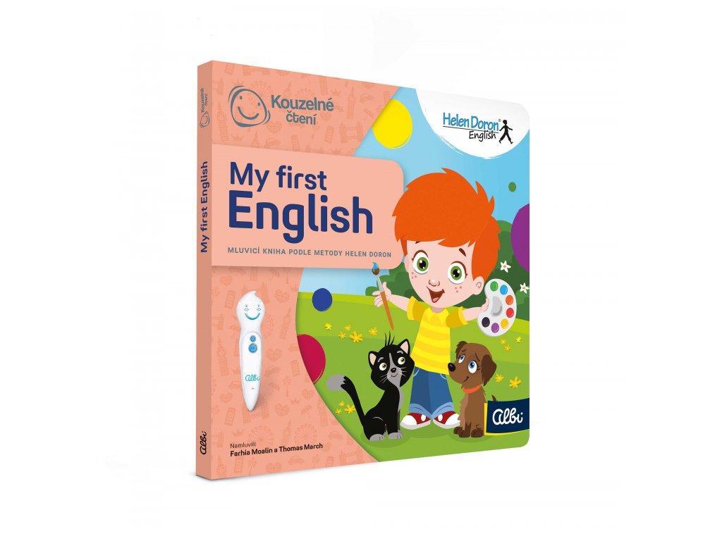 Kouzelné čtení - kniha My First English