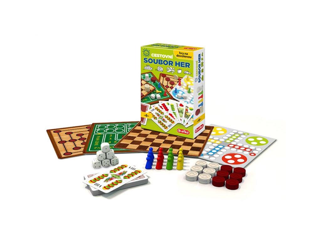 cestovni soubor her hry na dovolenou