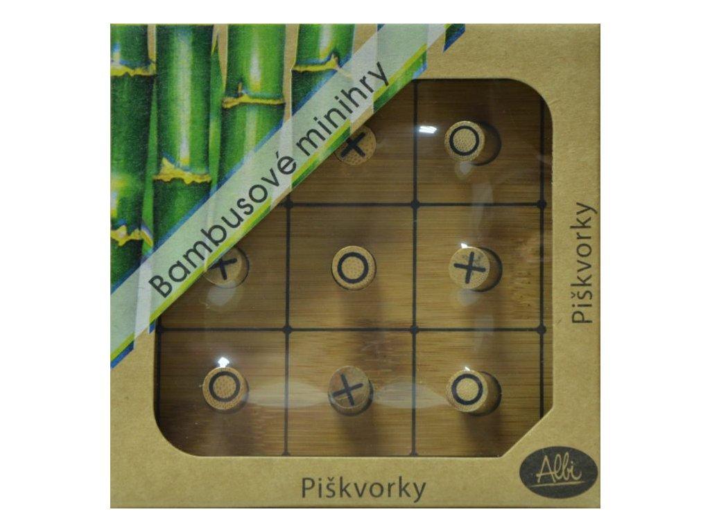 m bambusove minihry piskvorky 28584