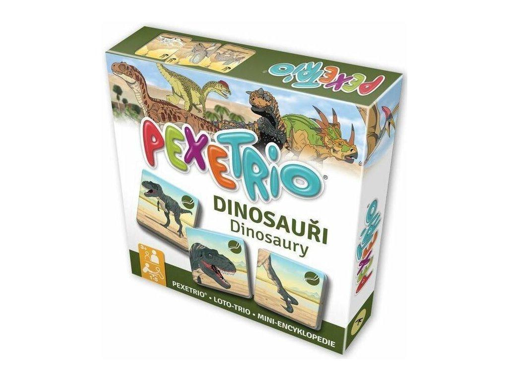 Pexetrio - Dinosauři