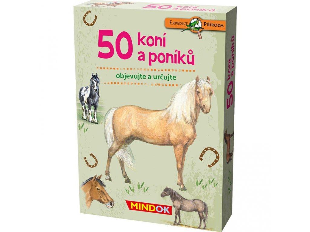 302 mindok expedice priroda 50 koni a poniku