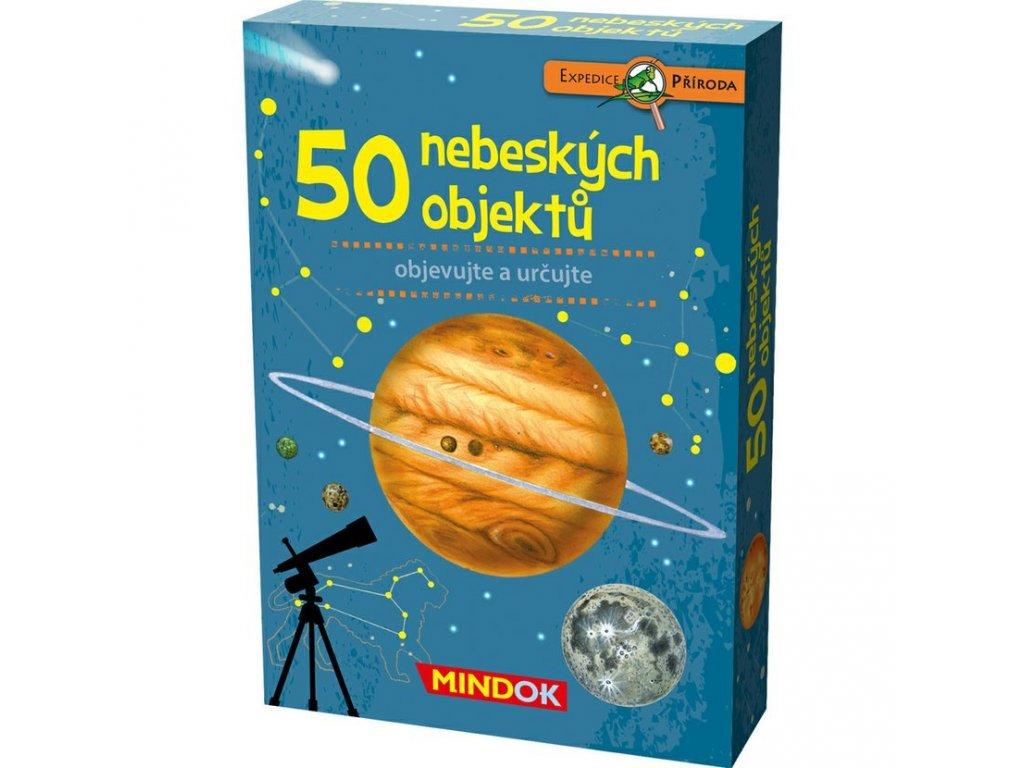 303 mindok expedice priroda 50 nebeskych objektu