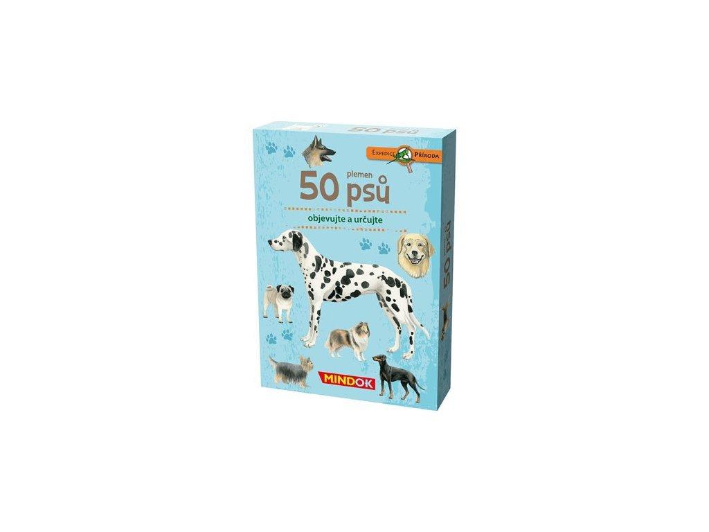311 mindok expedice priroda 50 plemen psu predni krabice