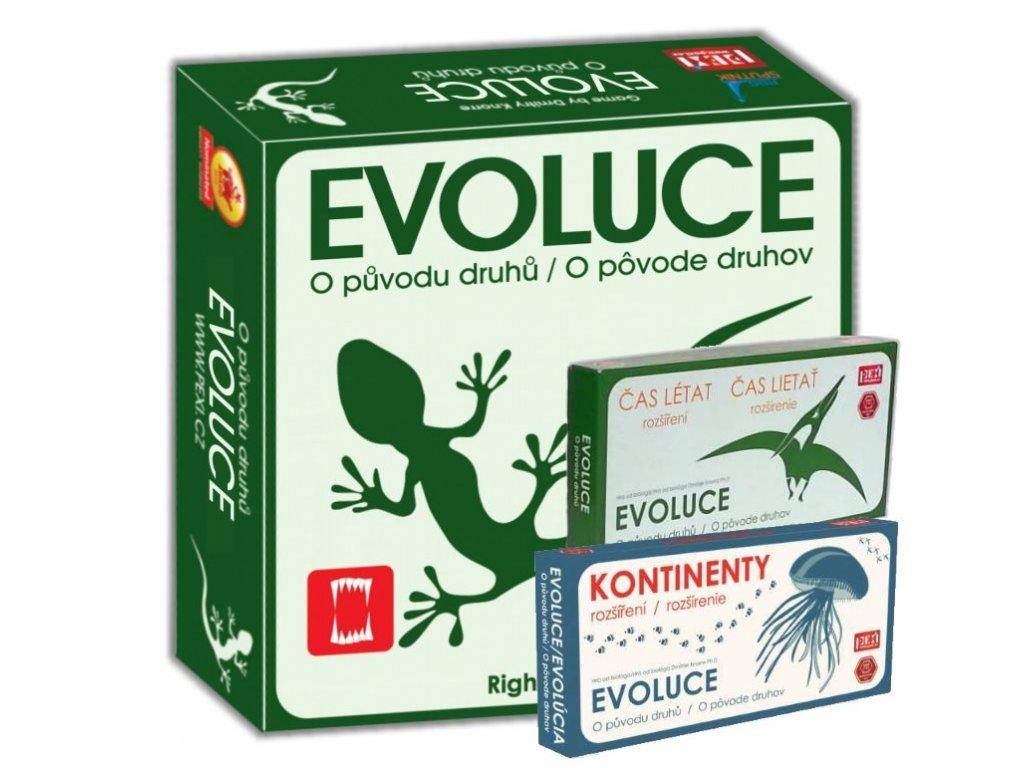 5545 Evoluce CZ Trilogie Obalka