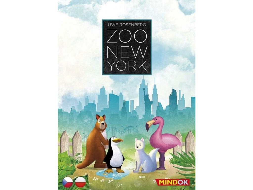 zoo new york stolni hra 8595558304257