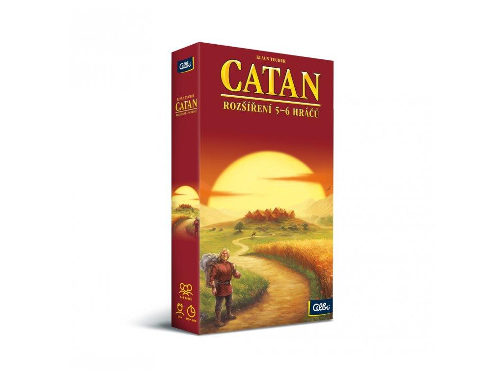 Catan - Osadníci z Katanu - rozšíření pro 5 a 6 hráčů