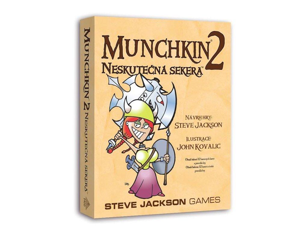 Munchkin 2 - Neskutečná sekera