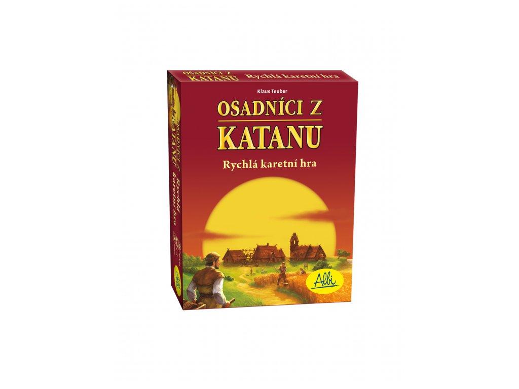 Catan - Osadníci z Katanu - rychlá karetní hra