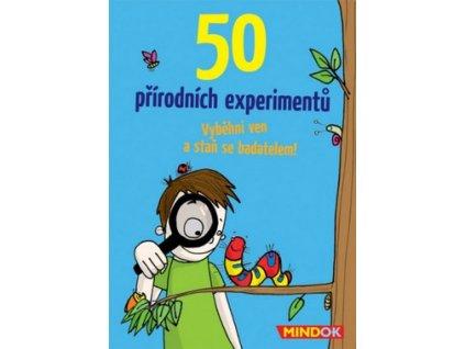 mindok 50 prirodnich experimentu mind003 490x380