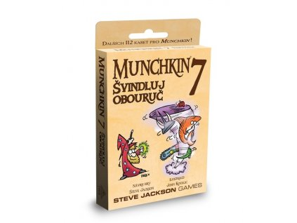 munchkin 7 svindluj obouruc